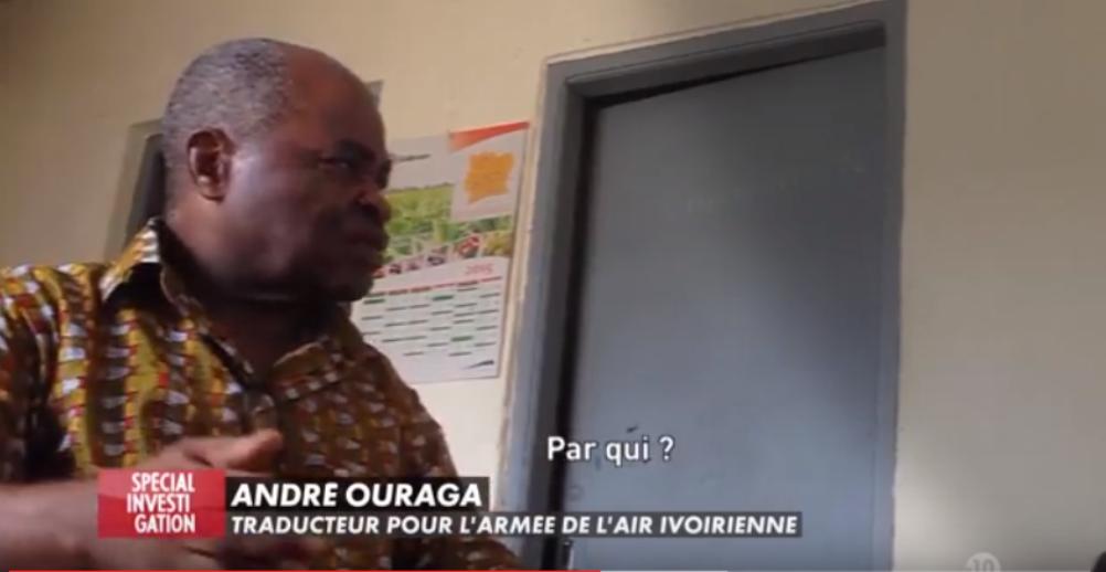 Emission Special Investigation de Canal Plus : Un traducteur de l'armée ivoirienne confirme que Gbagbo prenait ses ordres militaires en France