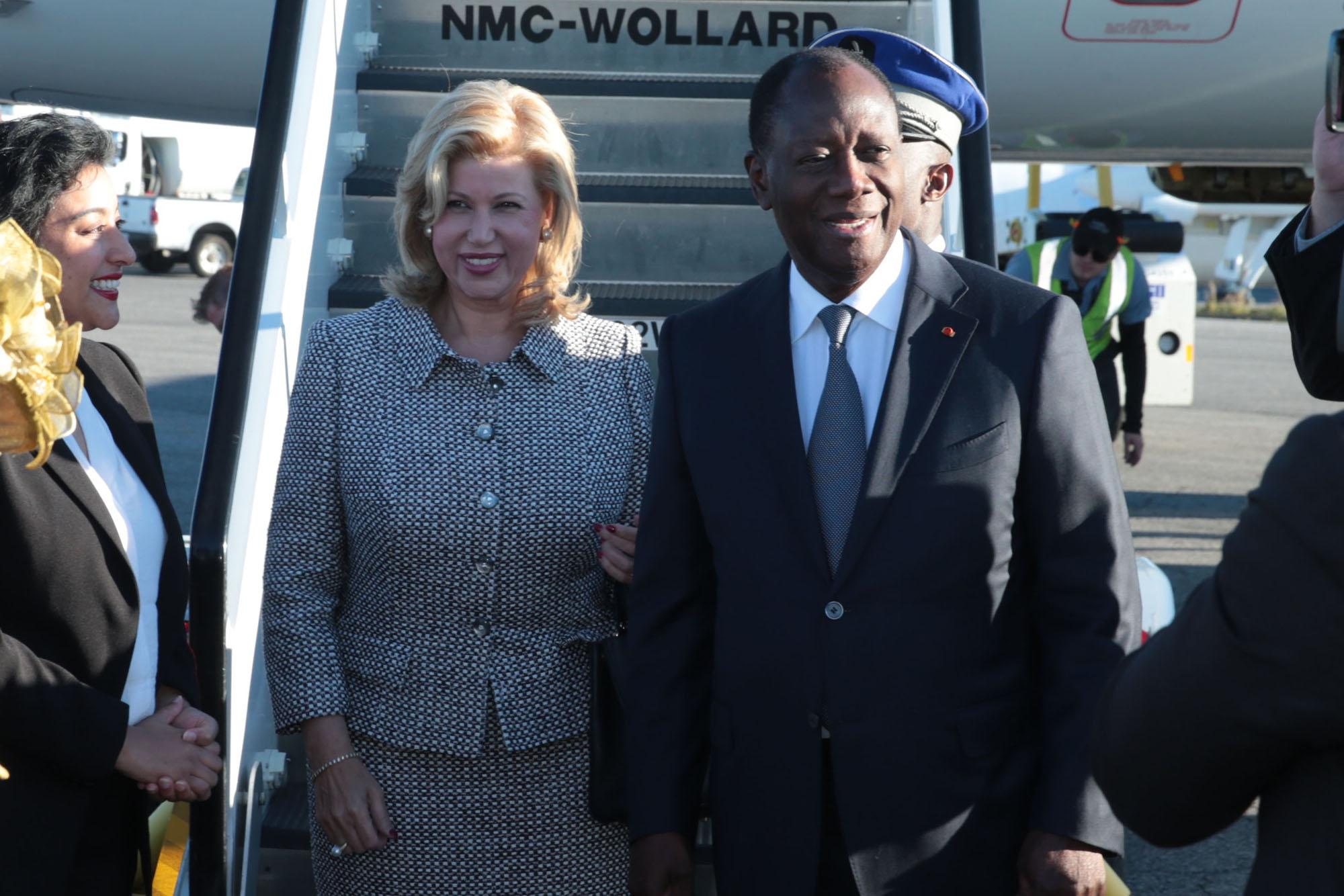 Le Chef de l'Etat est arrivé à Montréal pour prendre part à la Conférence du Fonds Mondial sur le SIDA, la Tuberculose et le Paludisme