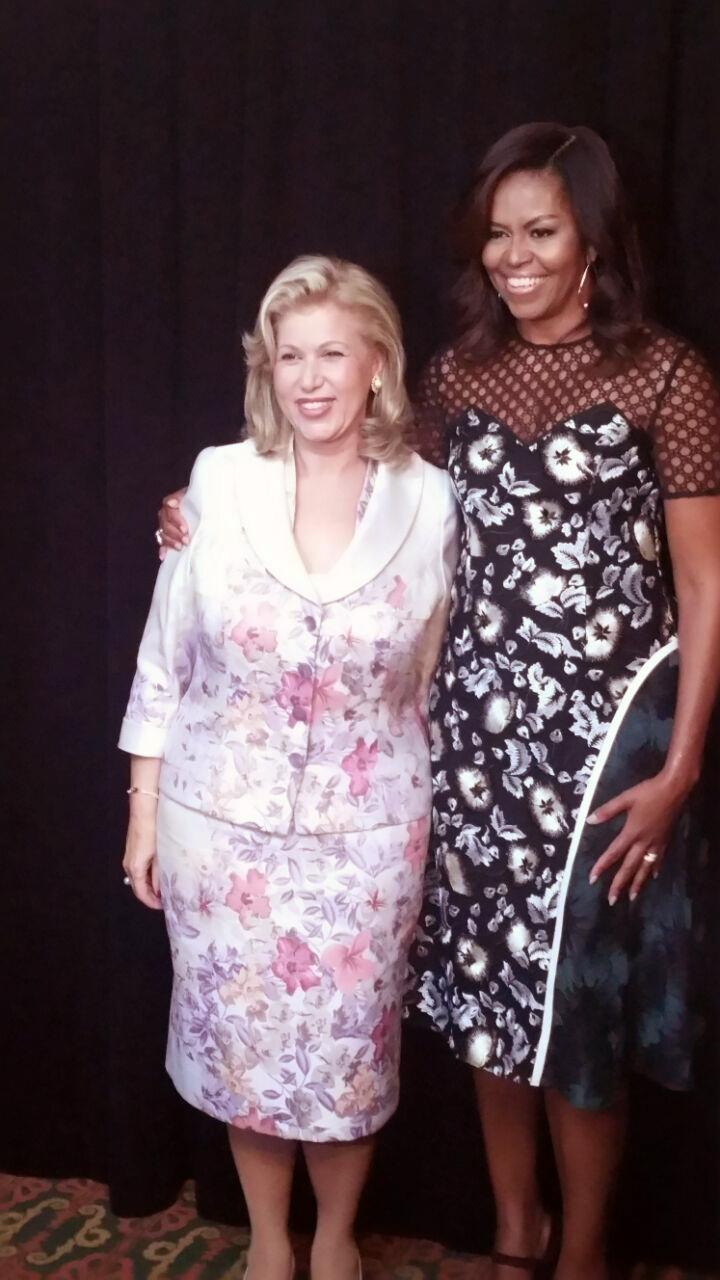 Michelle Obama pour une grande implication des Premières Dames du monde