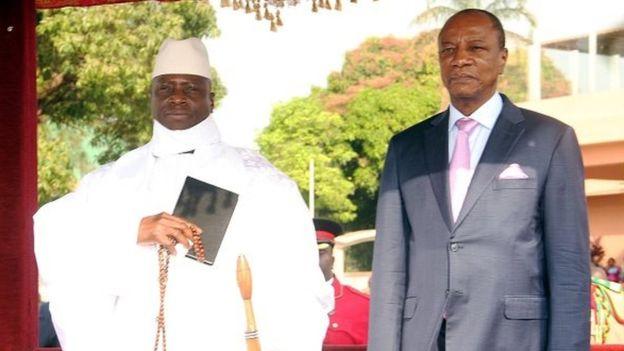 Gambie : Condé contre le recours à la force