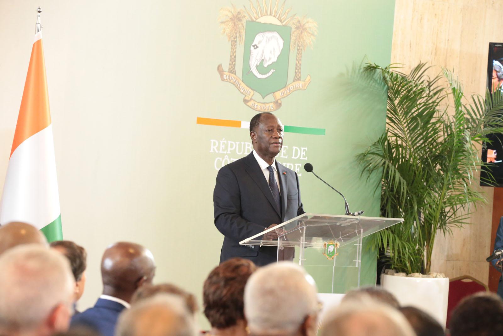 Le Chef de l'Etat a reçu les voeux de nouvel an des Corps constitués.