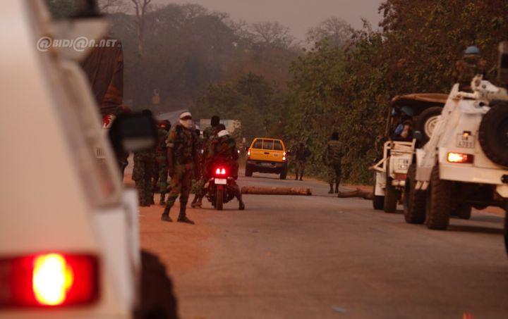 Soulèvement militaire:Man et Akouédo tombent aux mains des mutins