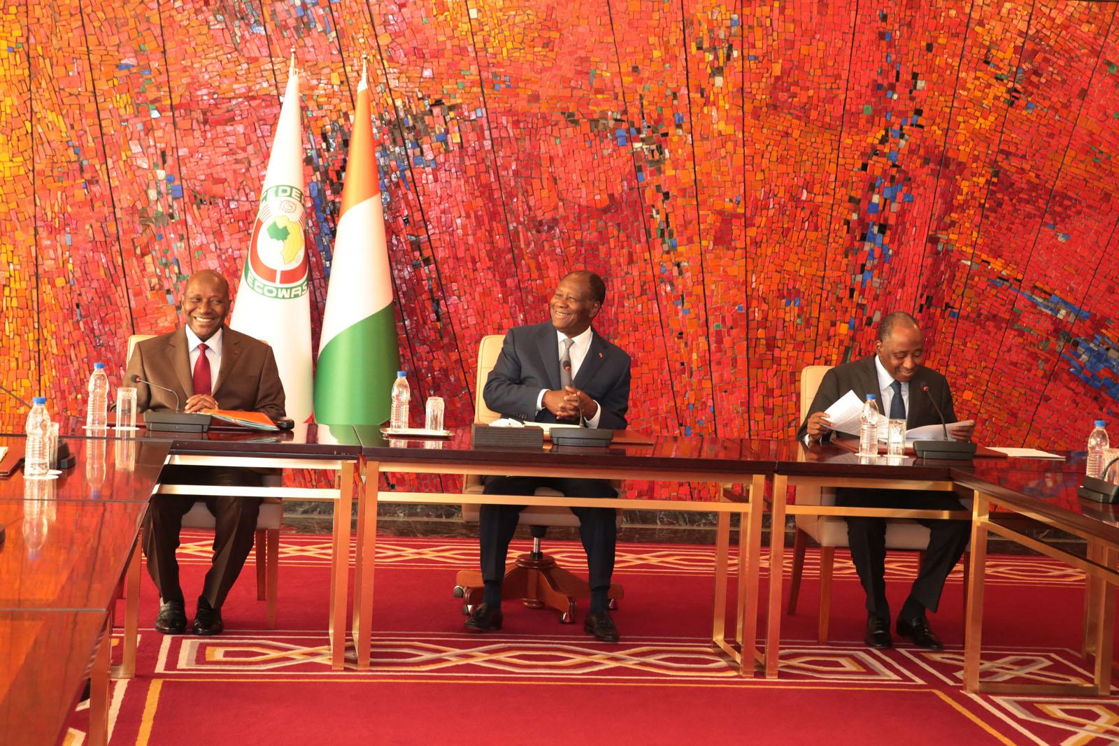 Le Chef de l'Etat a échangé avec une délégation du FMI