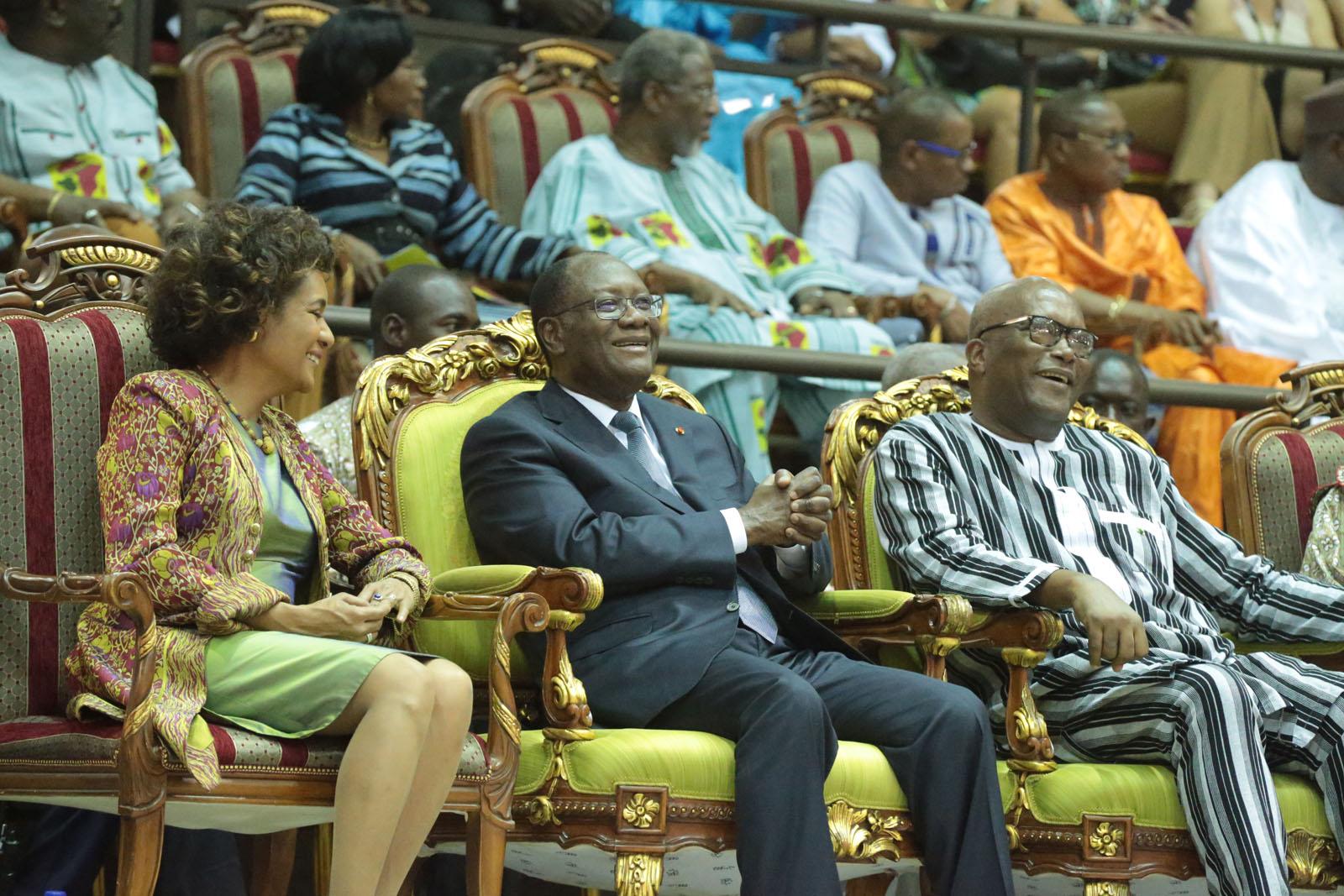 Le Chef de l'Etat a pris part à la cérémonie de clôture de la 25ème édition du FESPACO