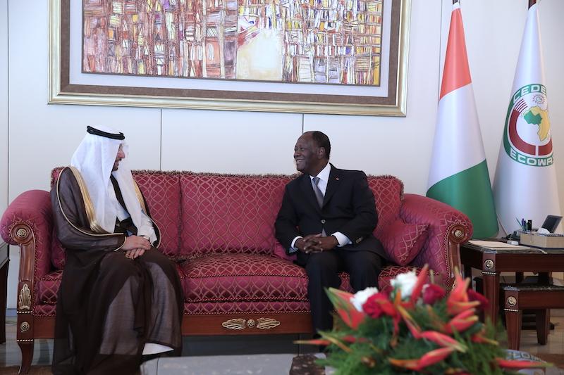 Le Chef de l'Etat a eu un entretien avec le Secrétaire Général de l'Organisation de la Coopération islamique