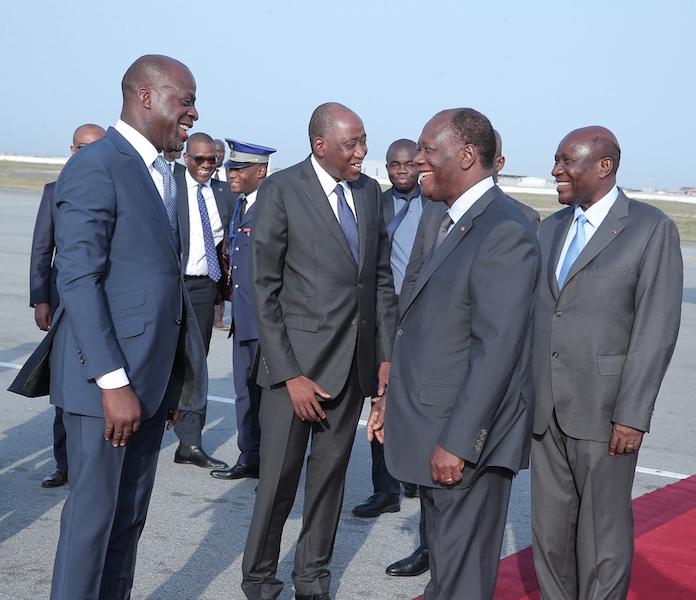 Le Chef de l'Etat a regagné Abidjan après un séjour en France