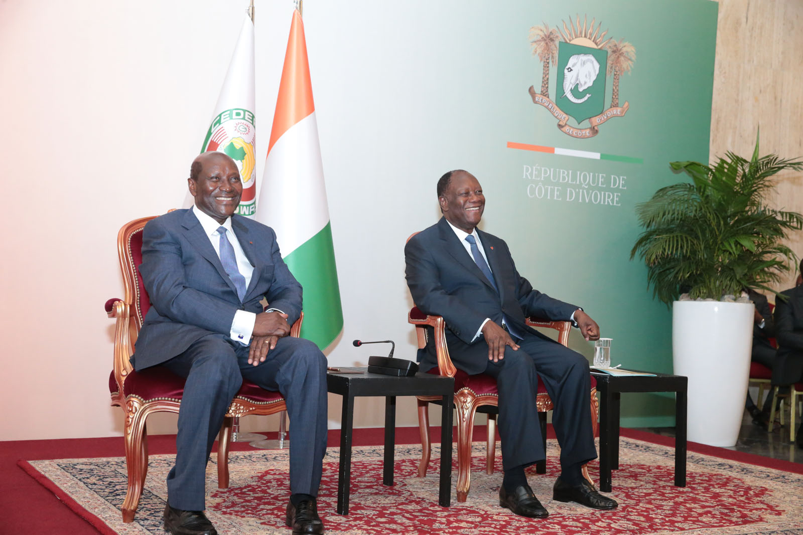 Ouattara : Duncan is the right man at the right place.