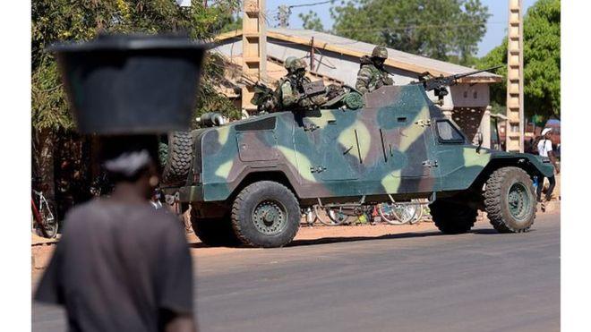 Gambie: Echange de coups de feu