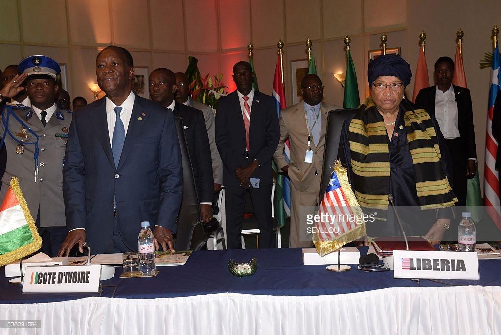 Coopération Côte d'Ivoire-Libéria: Le leadership régional d'Alassane Ouattara célébré par Ellen Johnson Sirleaf