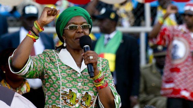 Grace Mugabe victime d'un accident de la circulation