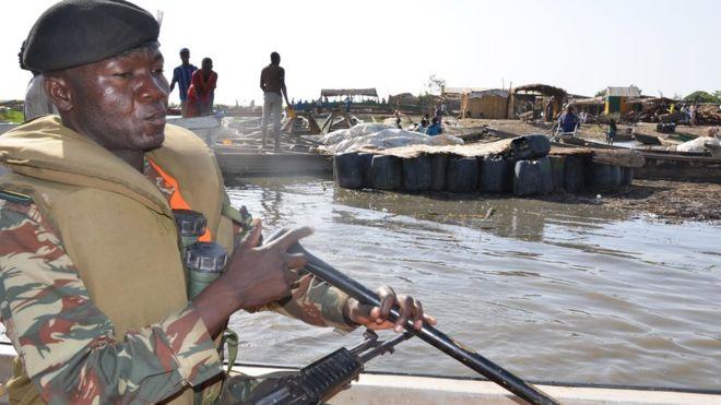 Cameroun: 34 militaires disparus en mer