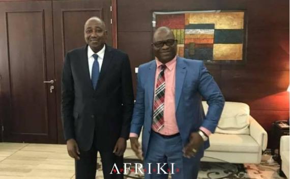Touré Ahmed Bouah chez le Premier Ministre, Amadou Gon Coulibaly pour parler d'Akwaba City