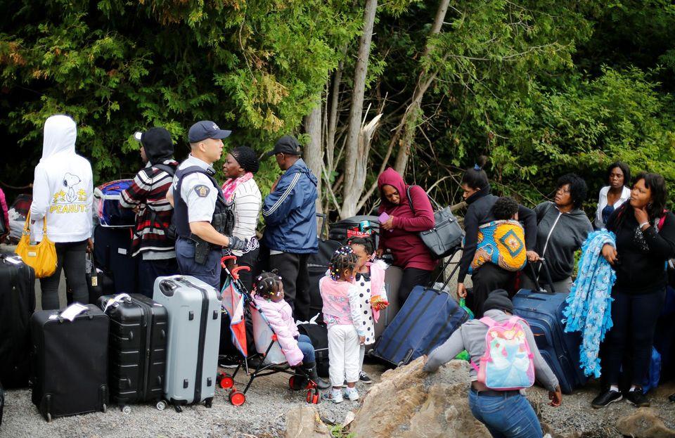 Au Canada, terre d'asile de réfugiés qui fuient les Etats-Unis