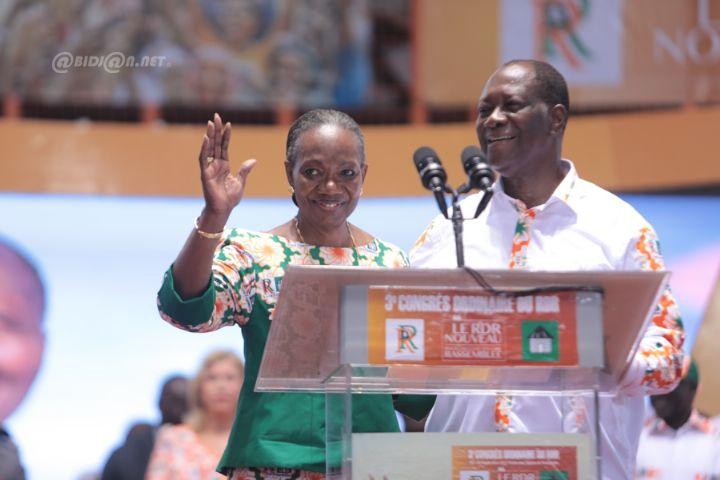 Henriette Diabaté présidente du RDR