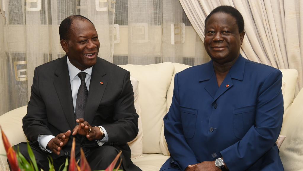 Côte d'Ivoire: Ouattara  et   Bédié ,  ton pied , mon pied !!!!