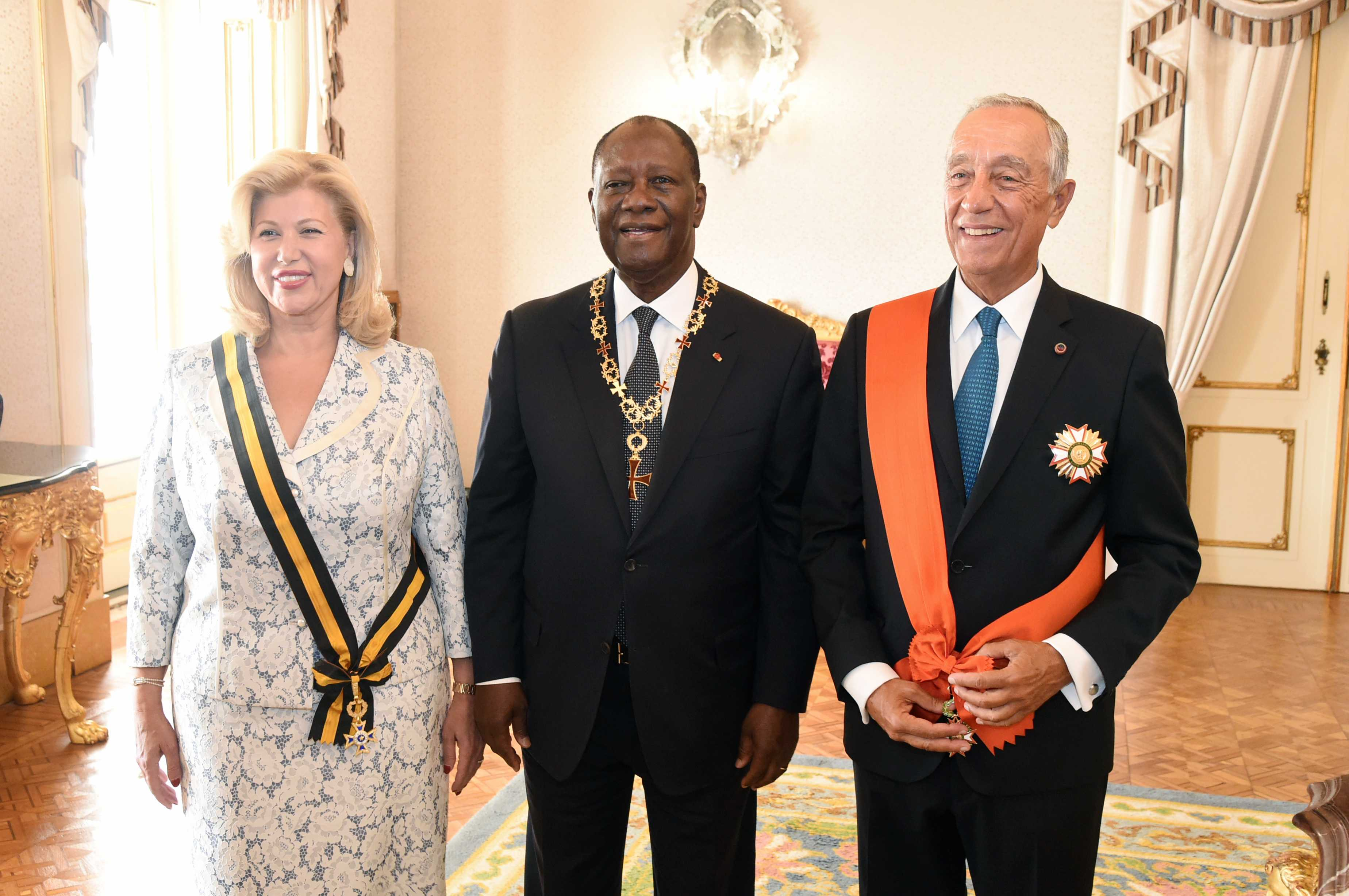 Dominique Ouattara s'imprègne du savoir-faire de deux Fondations portugaises