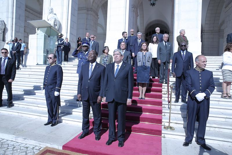 Le chef de l'Etat a eu un entretien avec le Président de l'Assemblée de la République du Portugal et a pris part à la cérémonie d'ouverture du Forum d'Affaires Ivoiro-Portugais.