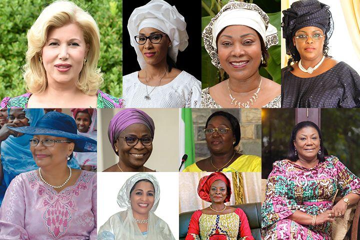 Lutte contre  le travail des Enfants et autonomisation des femmes:        17  Premières Dames d'Afrique   à Abidjan