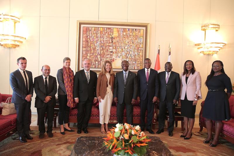 Le Chef de l'Etat a échangé avec la Présidente de France Médias Monde