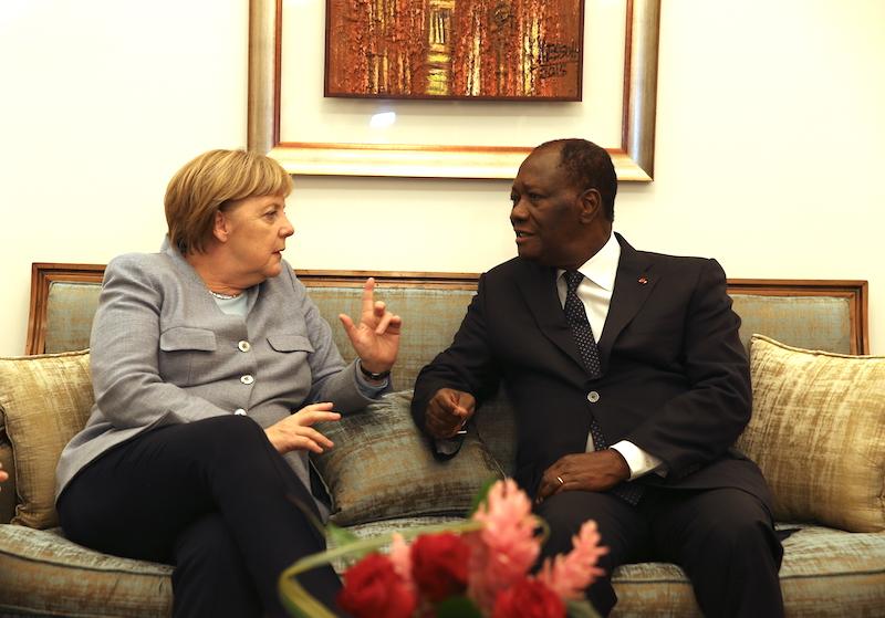 Le ballet d'audiences du président Alassane Ouattara a commencé