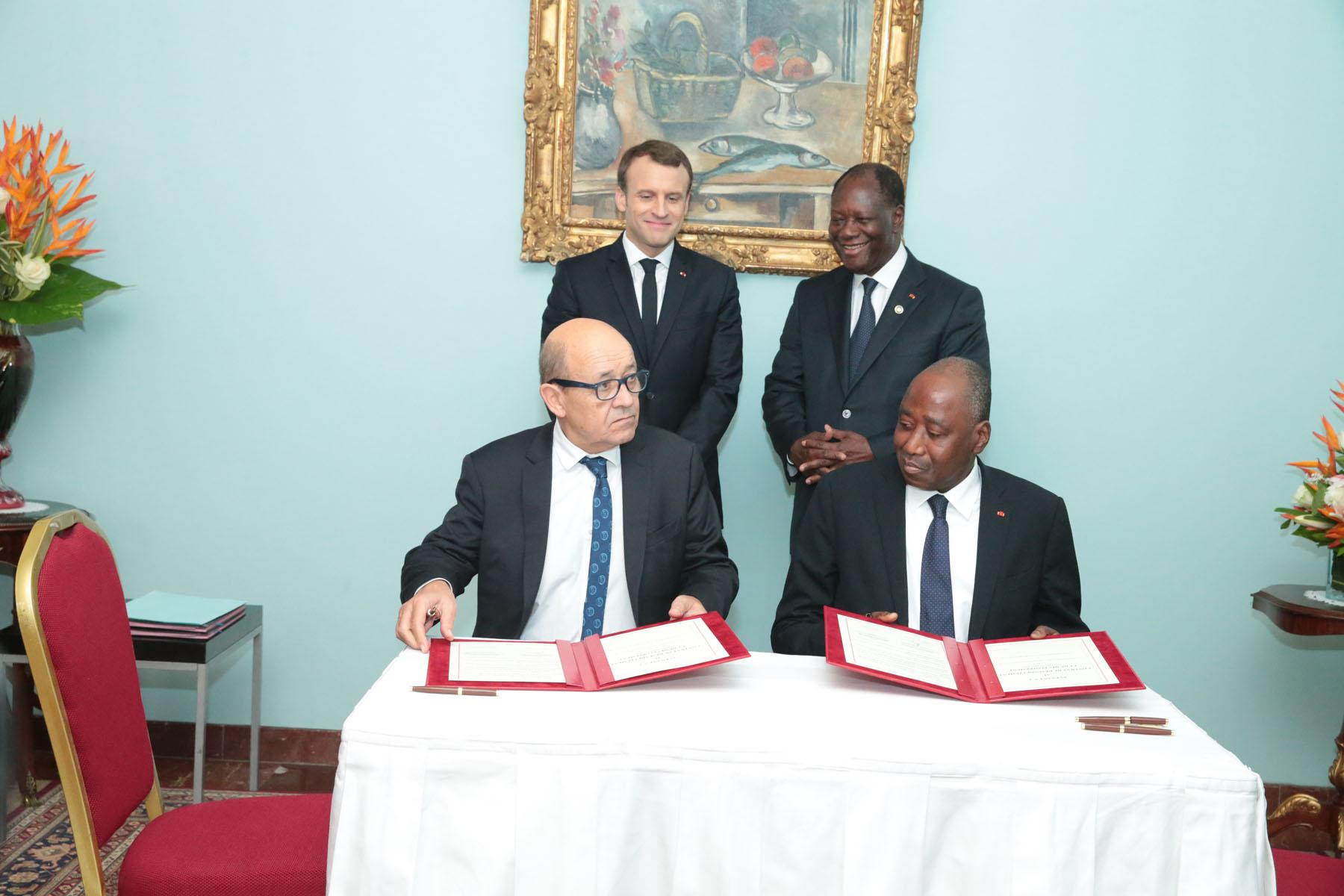 Côte d'Ivoire-chute du cacao: La France apporte un appui financier de 65,60 milliards Fcfa pour combler le déficit budgétaire 2017