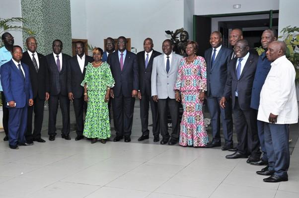 En Côte d'Ivoire  , le parti unifié prend