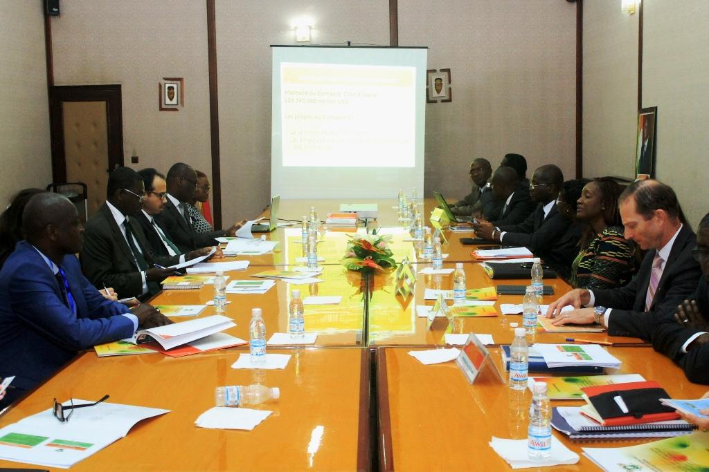 Côte d'Ivoire :  Mise en oeuvre  du Compact