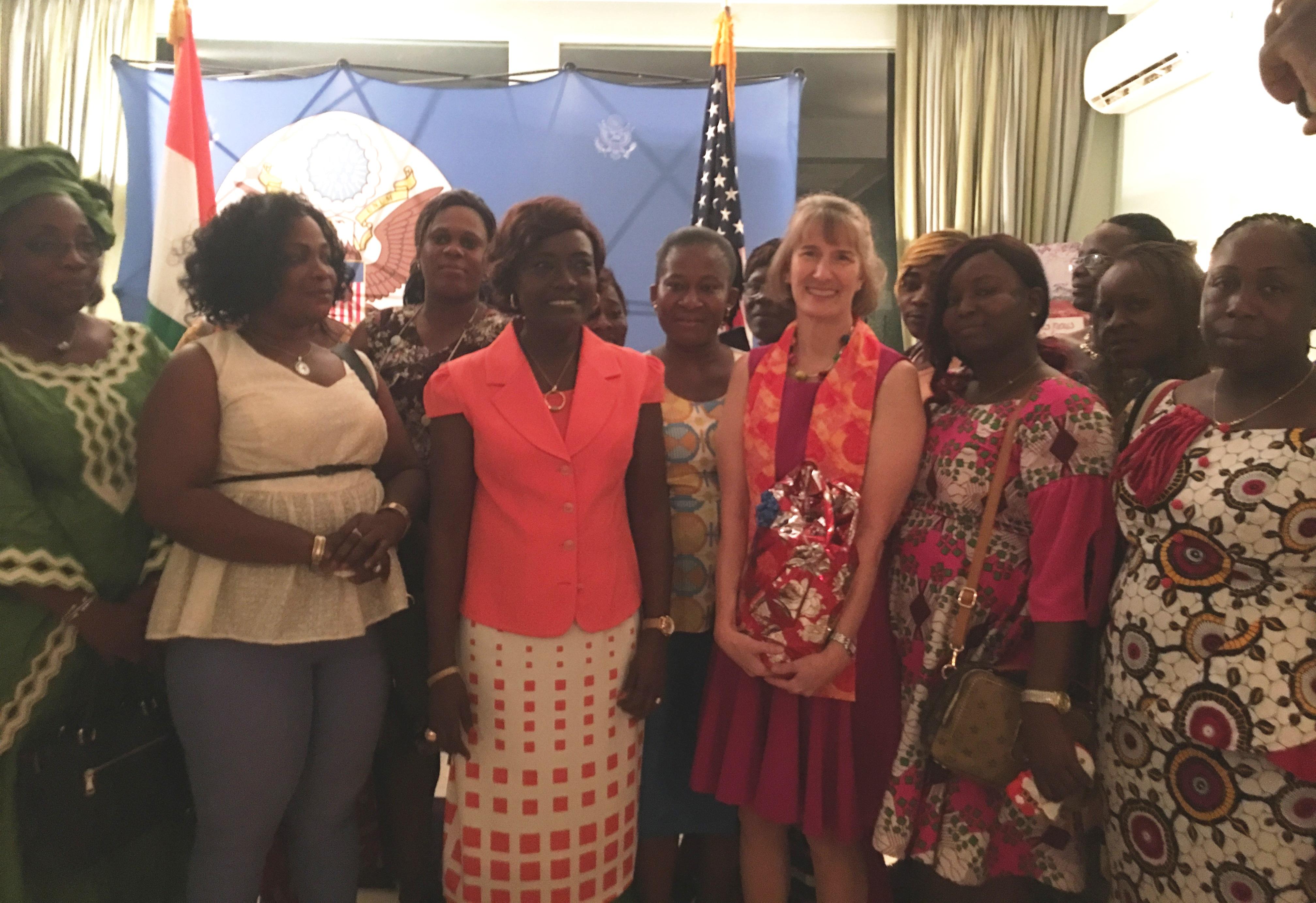 Appui des Etats-Unis au Projet d'Appui au Renforcement de la Réponse aux Violences Sexuelles Basées sur le Genre (VSBG) en Côte d'Ivoire