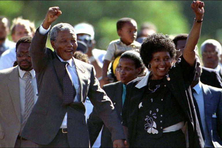 C'était  un 11 février, comme aujourd'hui.......Nelson Mandela est libéré de prison.
