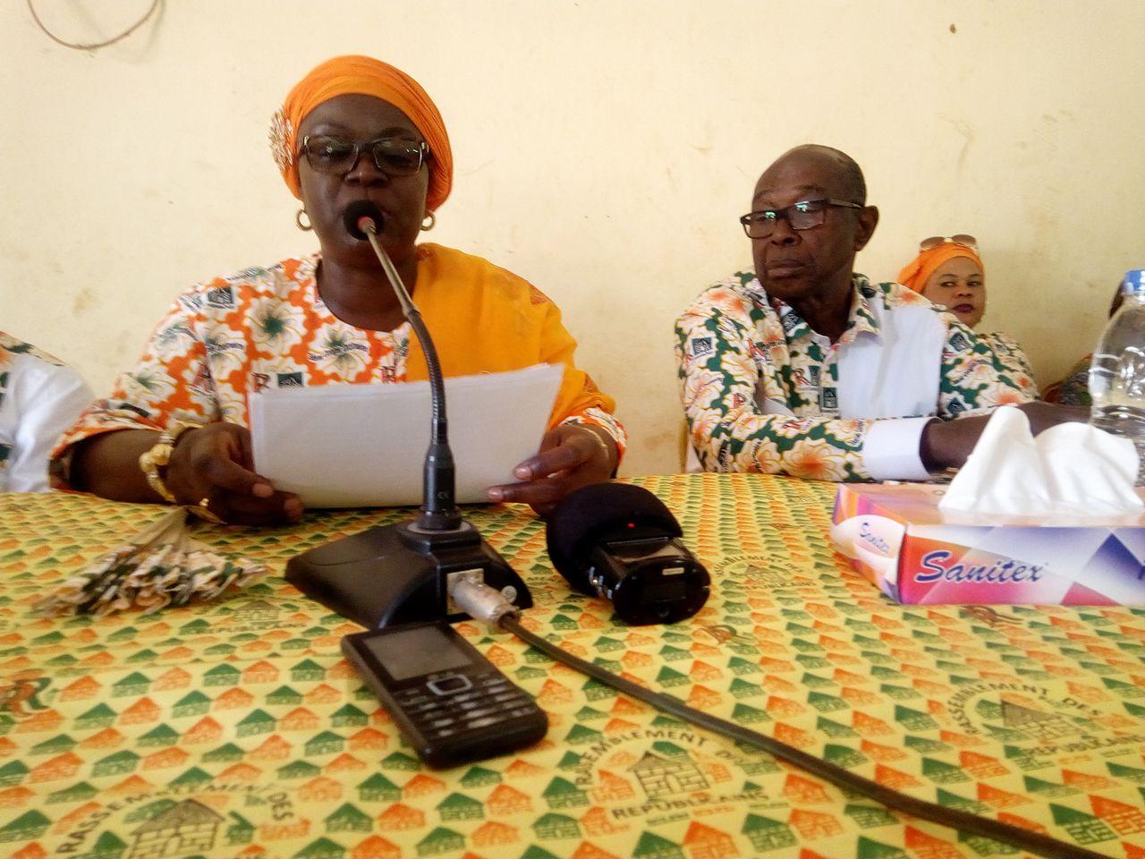 Massandje Touré aux militants de Botro: ''Nous devons consolider notre position de premier parti de Côte d'Ivoire''