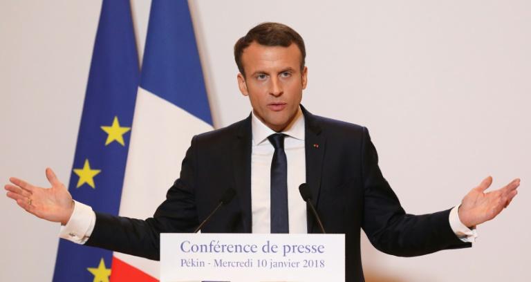 Macron s'en prend publiquement à une journaliste dont il n'apprécie pas la question