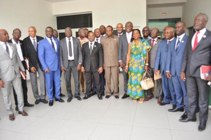 Le groupe parlementaire du PDCI-RDA apporte son  soutien à Guikahué et Billon