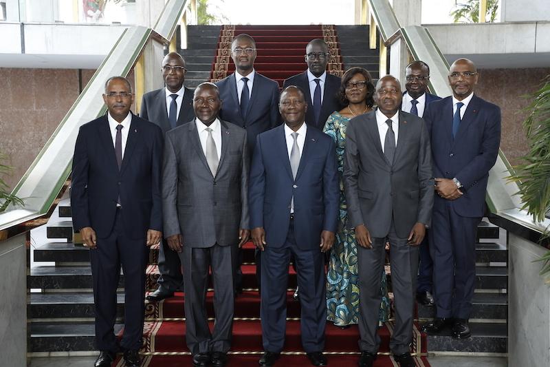 Le Chef de l'Etat a présidé la cérémonie de lancement officiel du Conseil National de Politique Economique