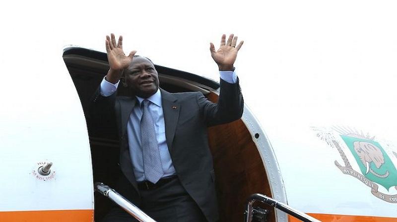 Côte d'Ivoire: Le président Ouattara a quitté Abidjan pour le Koweït