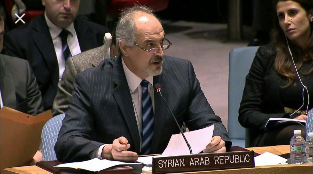 Intervention de SEM al-Jafari, Représentant de la République Arabe Syrienne, au Conseil de Sécurité