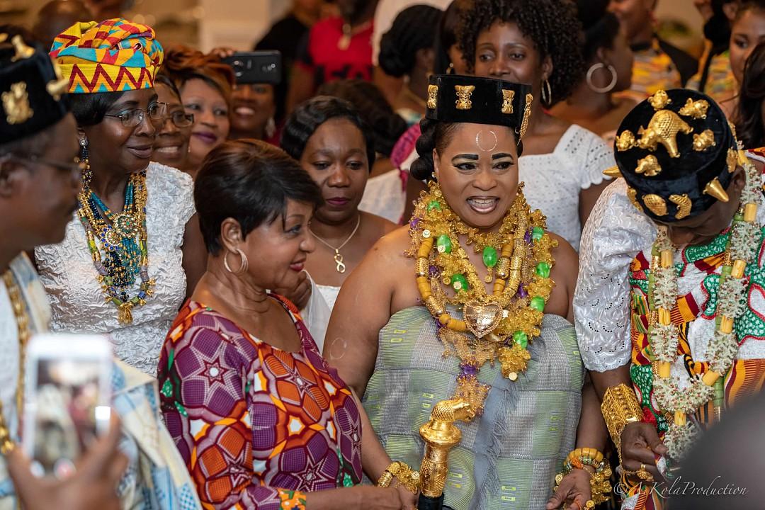 Paquinou 2018 : Mme Bédié communie avec la diaspora