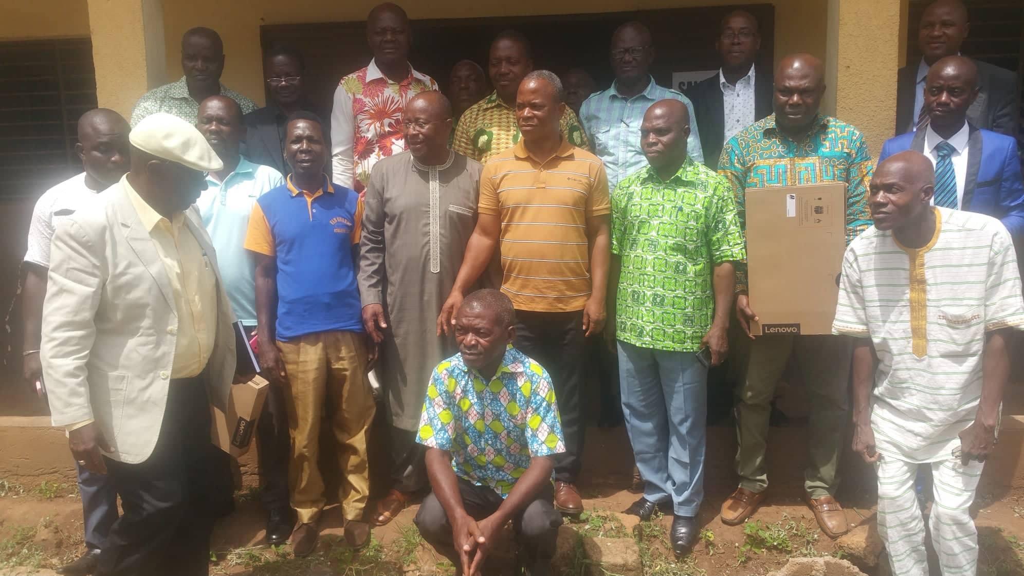 Bouaké/Processus d'enrôlement: les enseignants Pdci-Rda sonnent la mobilisation et la sensibilisation