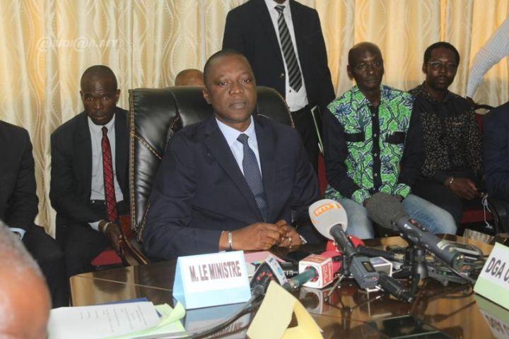 Guichet unique automobile : Guichet unique automobile : Un mois après le scandale, Amadou Koné annonce des réformes