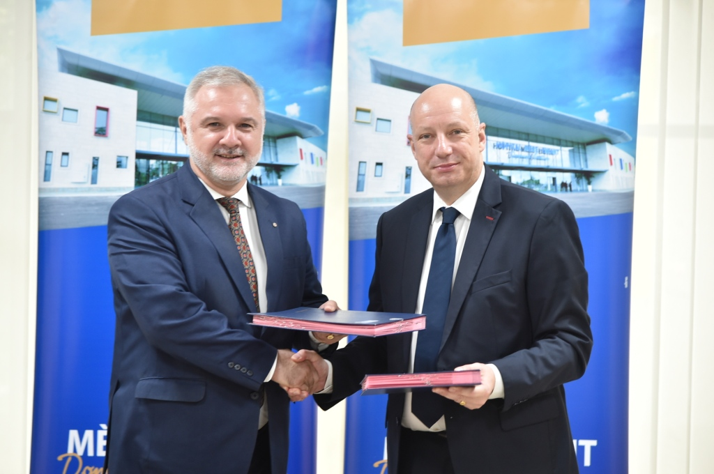 Santé : L'HME de Bingerville et le Consulat de France scèllent un  partenariat