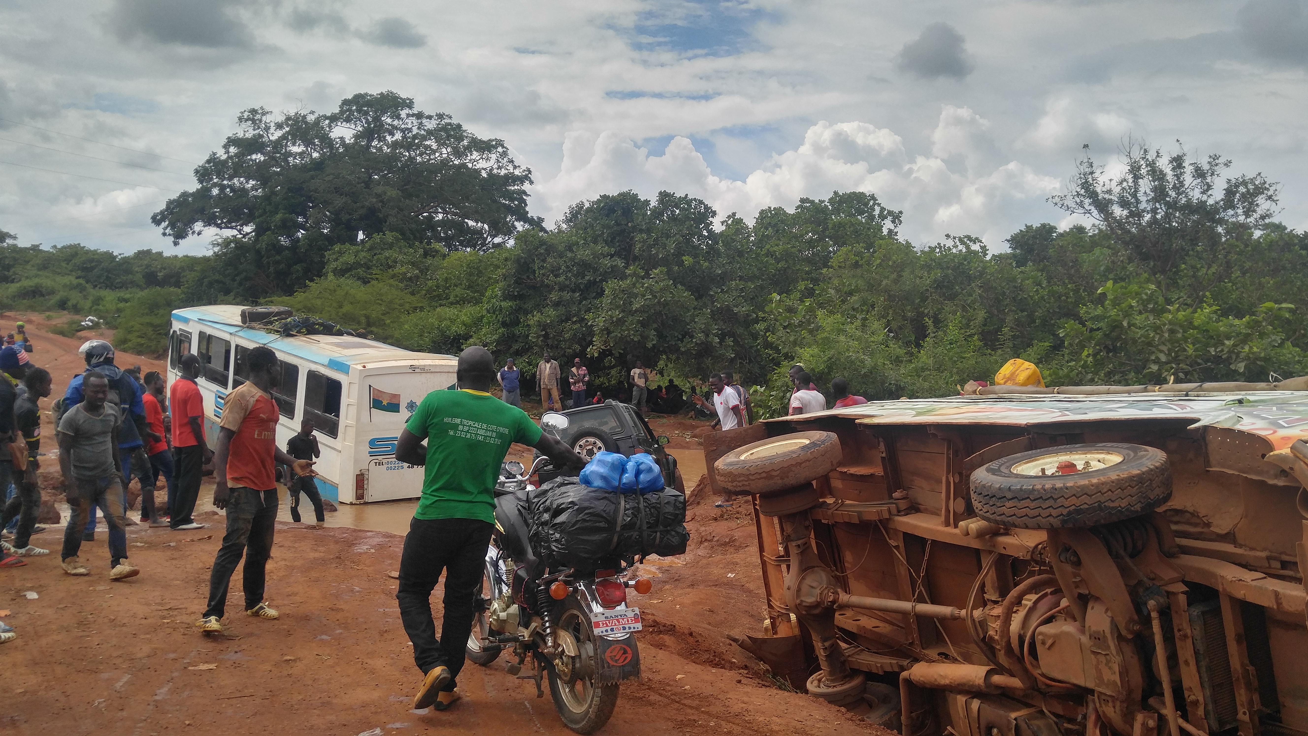 Carnet de route / Axe Bouandougou-Korhogo : Bienvenue sur la route de la mort !