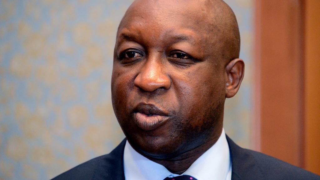 Paul Kaba Tiéba, a inauguré le tronçon Banfora-Niangoloko-frontière de Côte d'Ivoire