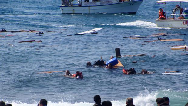 Immigration : Plus de 200 migrants morts noyés en trois jours en Méditerranée