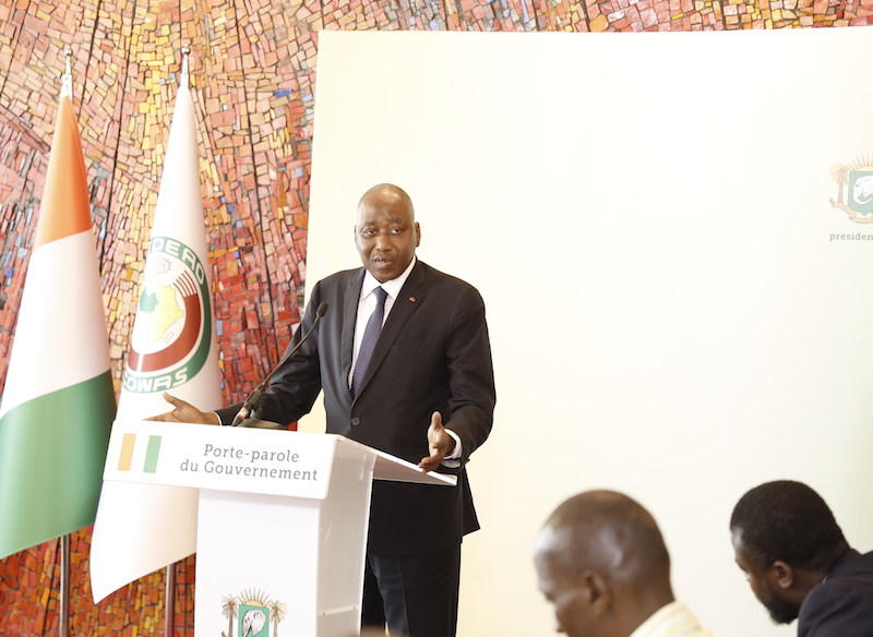 Création de nouveaux portefeuilles ministériels :  Les explications d'Amadou Gon Coulibaly