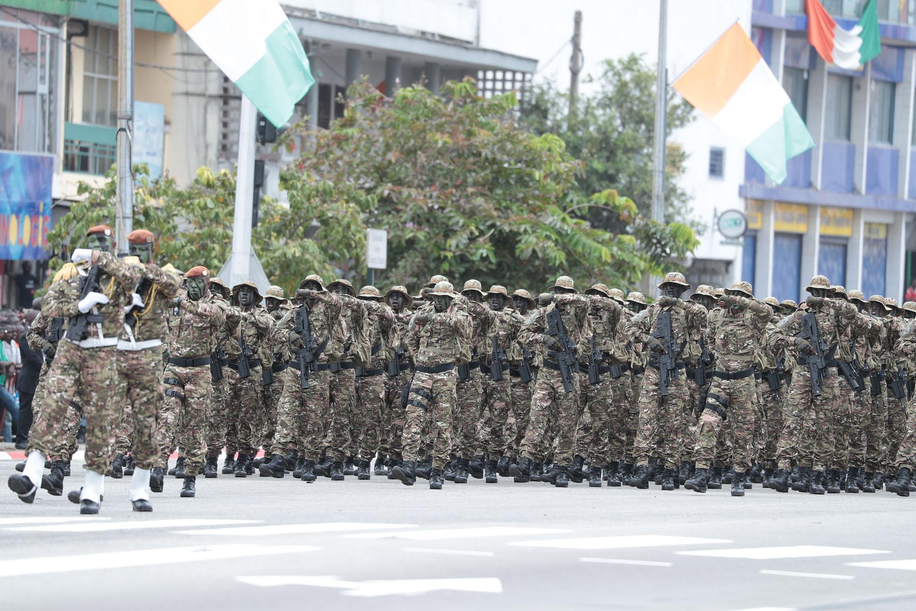 Côté d'Ivoire - Célébration de la fête nationale 2018 : L'armée nationale, la star du défilé