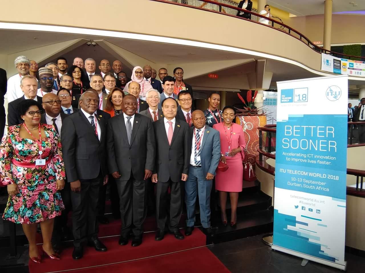 Ouverture de ITU Telecom World 2018 à Durban : L'appel du Président Cyril Ramaphosa
