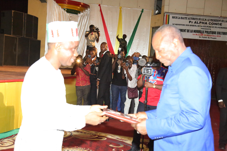 Nouvelle politique  nationale de la culture   :  Le document remis au Président Alpha Condé