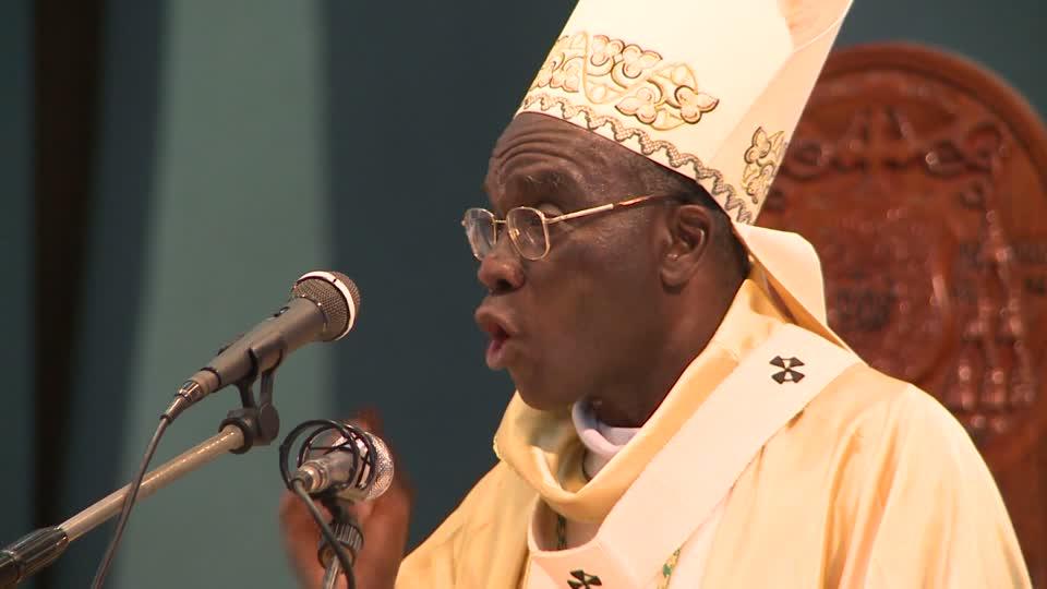 En Côte d'Ivoire, le Cardinal Jean Pierre Kutwa demande pardon aux fidèles choqués par l'intervention d'un candidat au cours de la messe
