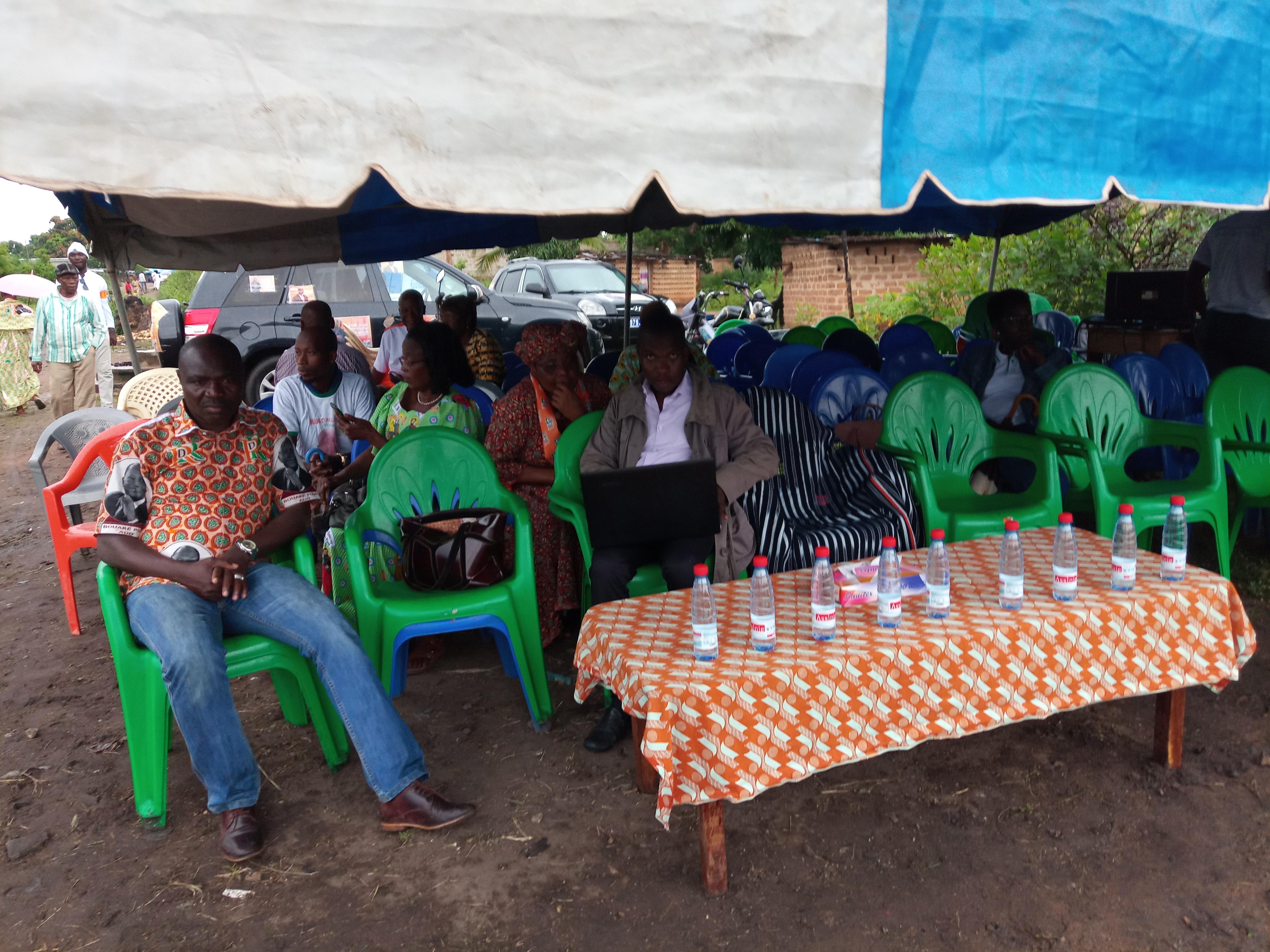 Bouaké/Élections municipales : un meeting du candidat Rhdp annulé au marché d'indigo