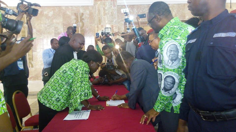 Côte d'Ivoire: L'audience de la plainte contre le PDCI-RDA renvoyée au 24 octobre