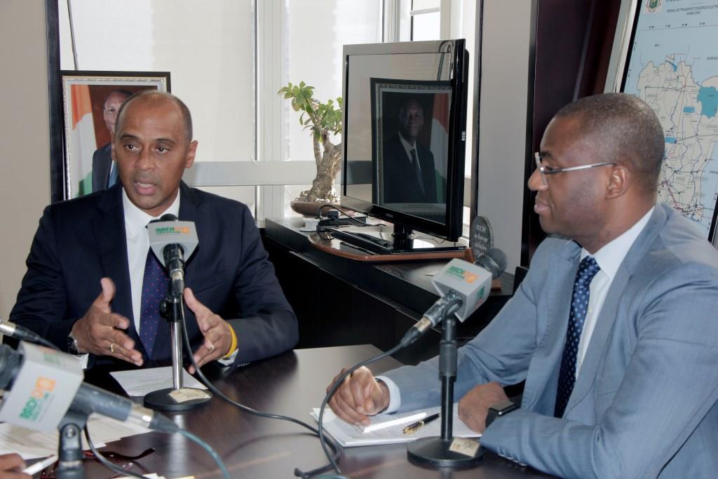 Côte d'Ivoire / Accès des populations à l'électricité : Thierry Tanoh et Sidi Touré présentent les programmes sociaux du gouvernement
